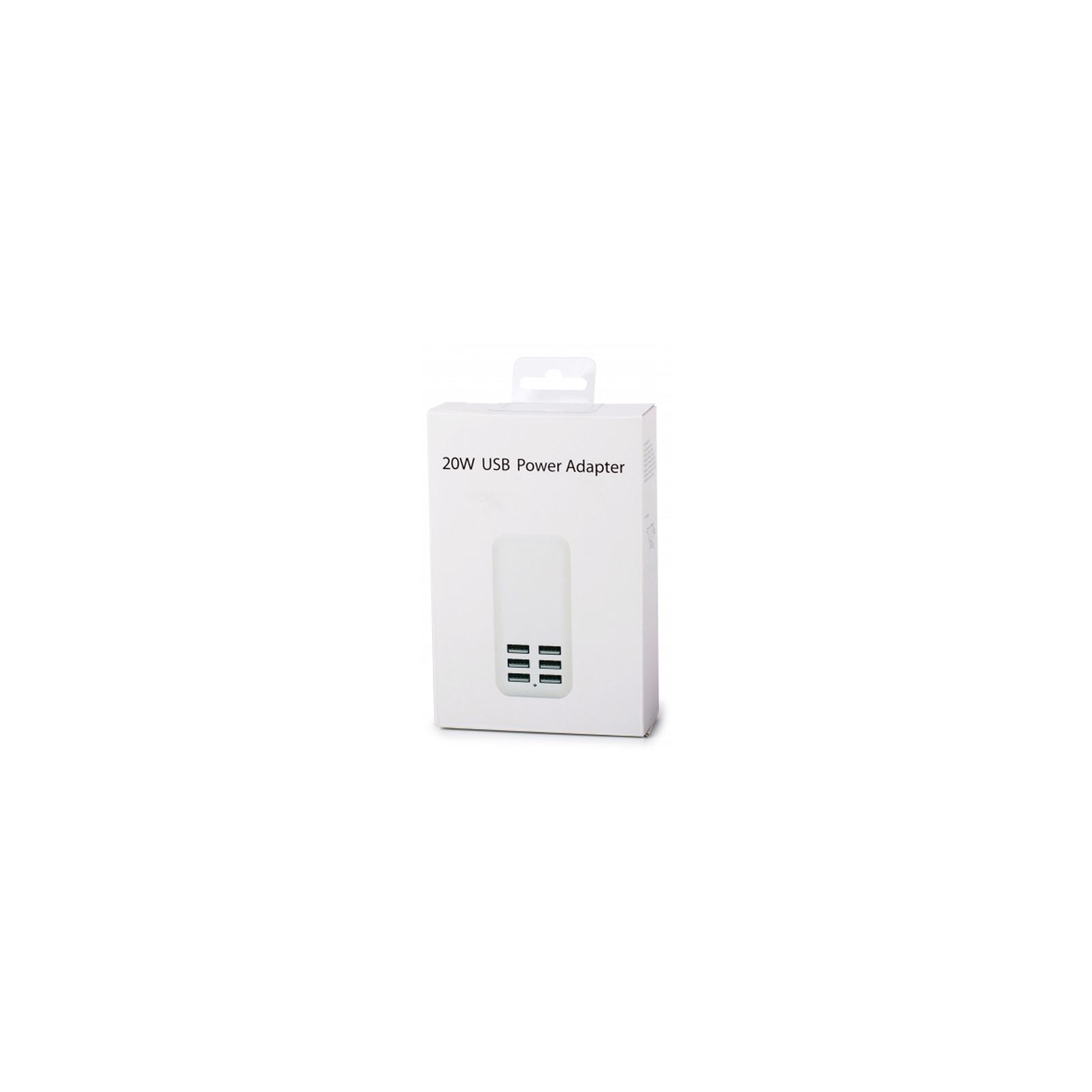 Зарядное устройство Drobak Multi Power 6*USB 6A (905320) изображение 5