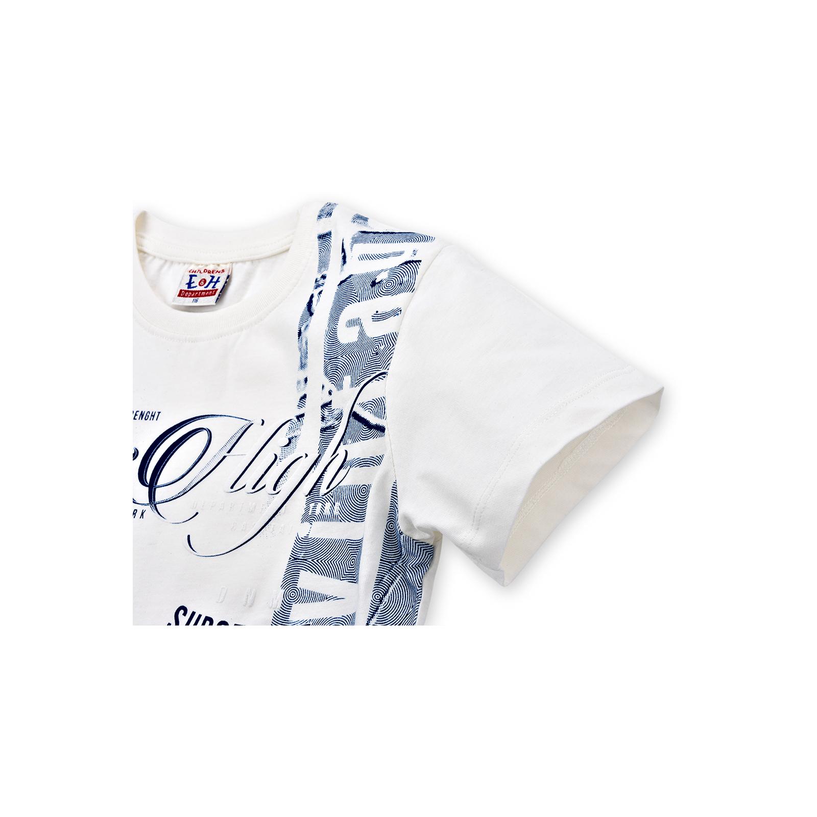 """Футболка детская Breeze """"Jeans High"""" (8757-152B-cream) изображение 3"""