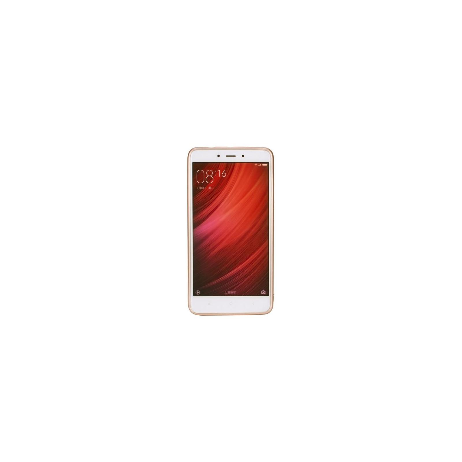 Чехол для моб. телефона T-Phox для XIAOMI REDMI NOTE 4 - SHINY (GOLD) (6361816) изображение 2
