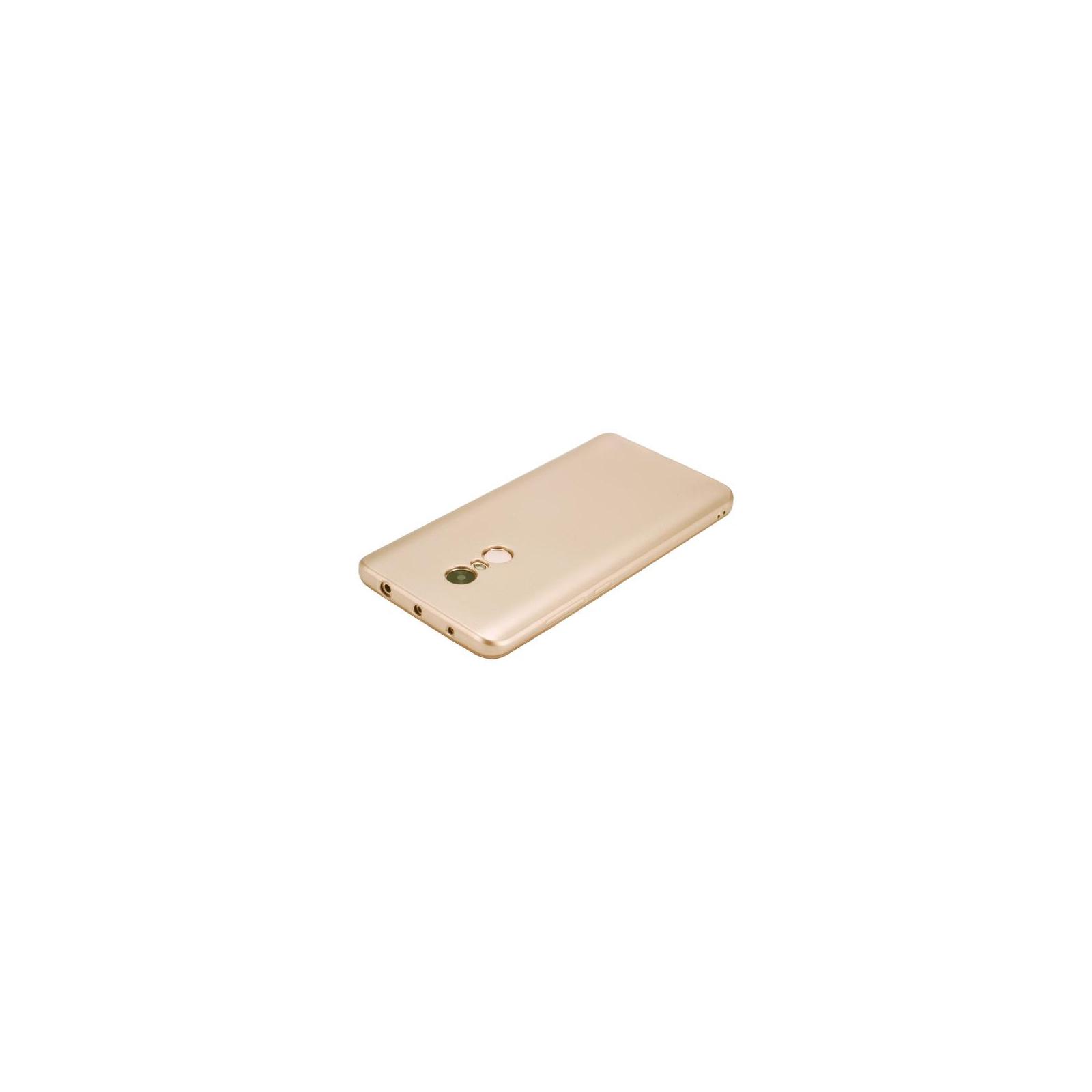 Чехол для моб. телефона T-Phox для XIAOMI REDMI NOTE 4 - SHINY (GOLD) (6361816) изображение 3