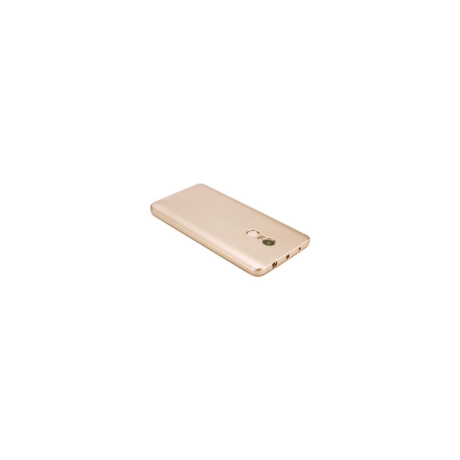Чехол для моб. телефона T-Phox для XIAOMI REDMI NOTE 4 - SHINY (GOLD) (6361816) изображение 4