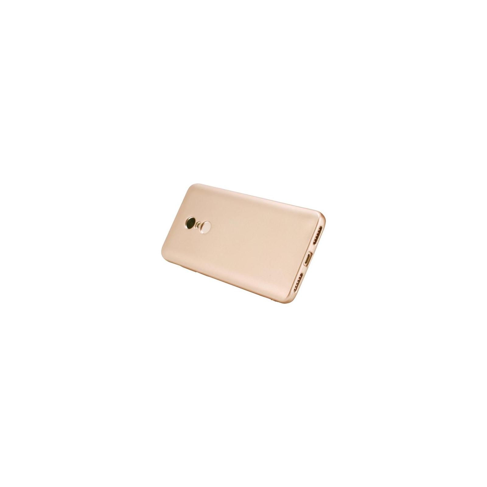 Чехол для моб. телефона T-Phox для XIAOMI REDMI NOTE 4 - SHINY (GOLD) (6361816) изображение 5