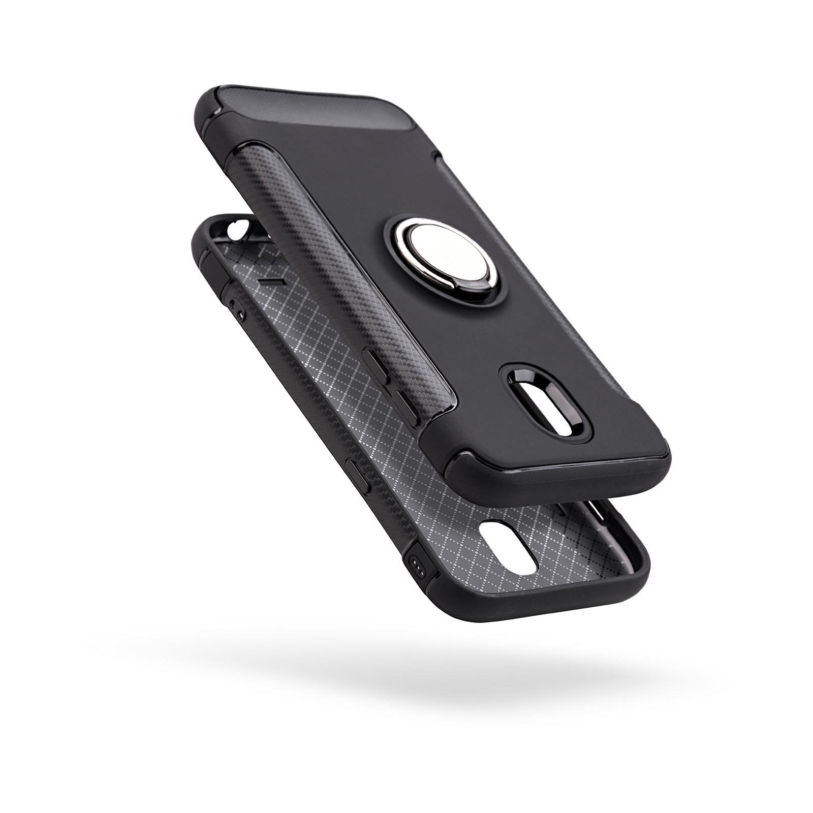 Чехол для моб. телефона Laudtec для Samsung J5 2017/J530 Ring stand (black) (LR-J530-BC) изображение 2