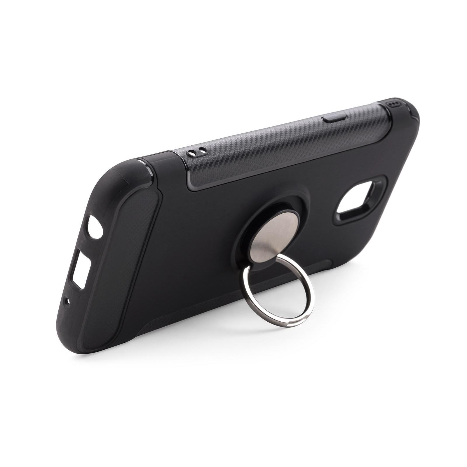 Чехол для моб. телефона Laudtec для Samsung J5 2017/J530 Ring stand (black) (LR-J530-BC) изображение 3