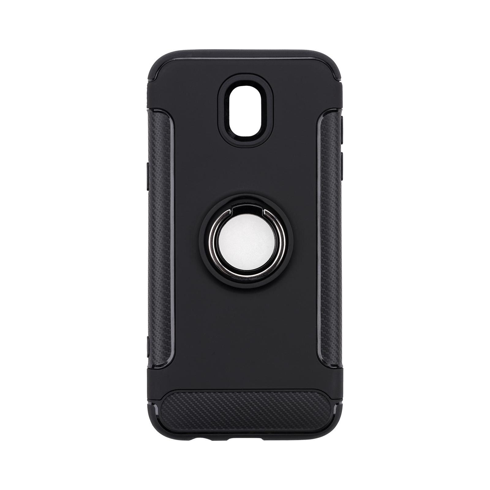 Чехол для моб. телефона Laudtec для Samsung J5 2017/J530 Ring stand (black) (LR-J530-BC) изображение 8