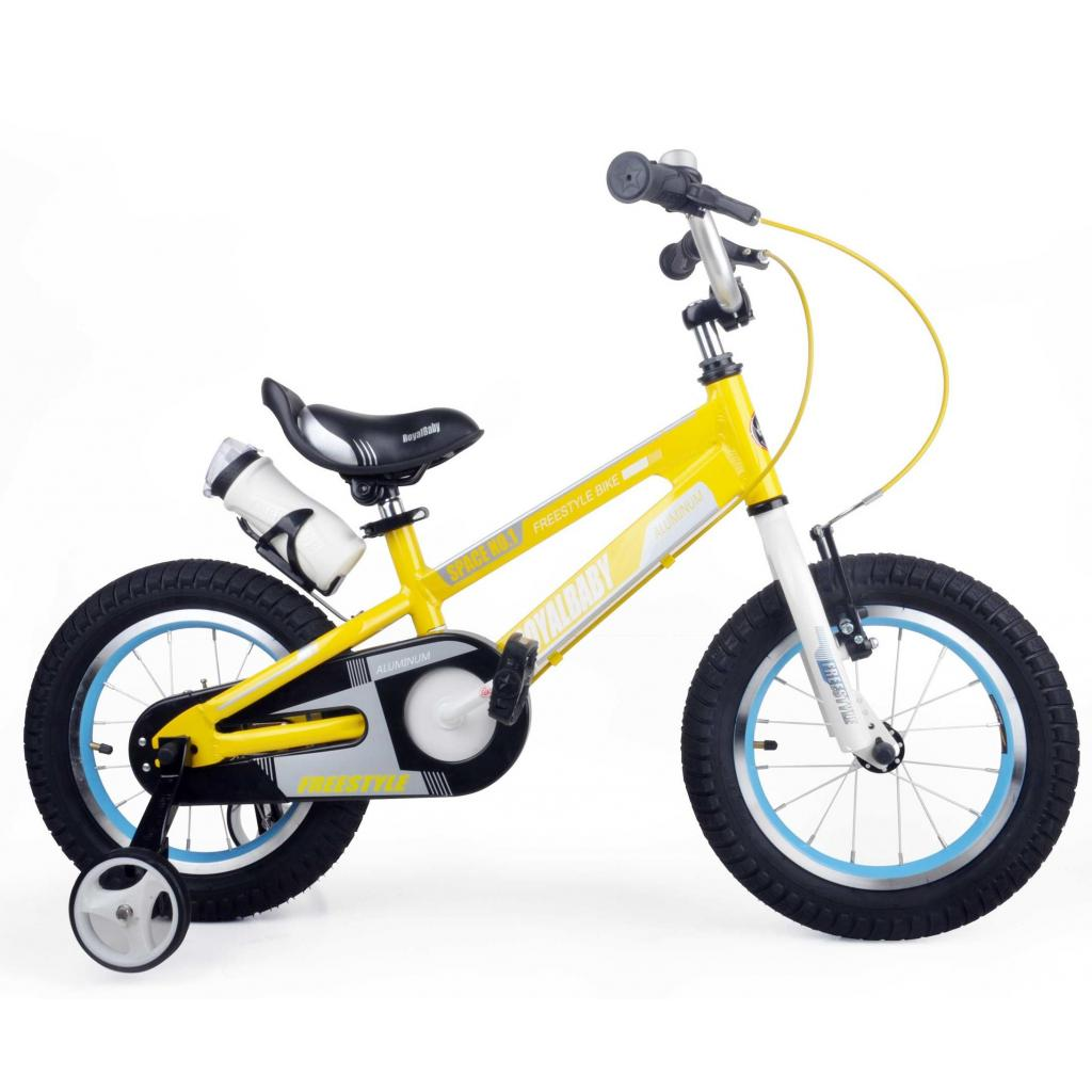 "Детский велосипед Royal Baby SPACE NO.1 Alu 18"", желтый (RB18-17-YEL)"