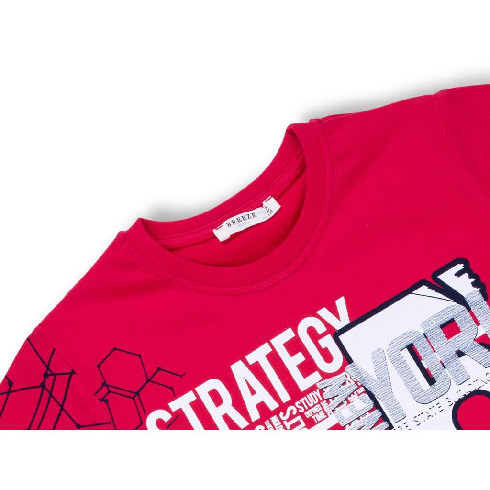 "Футболка детская Breeze ""STRATEGY"" (10152-1348B-red) изображение 3"