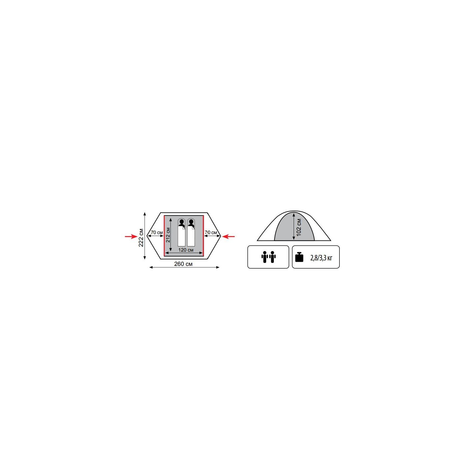 Палатка Tramp Colibri v2 (TRT-034) изображение 2