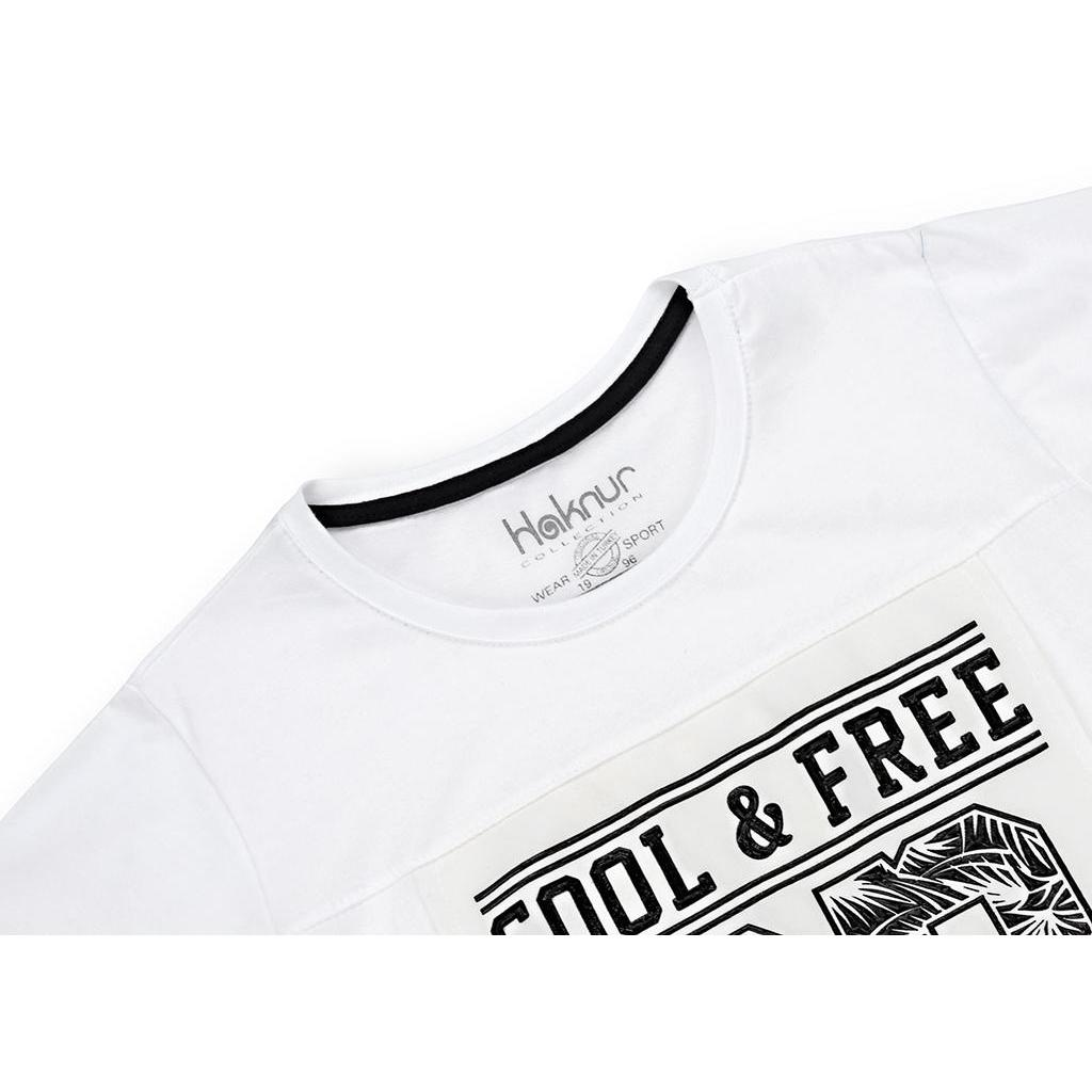 "Футболка детская Haknur ""COOL & FREE"" (6547-146B-white) изображение 3"