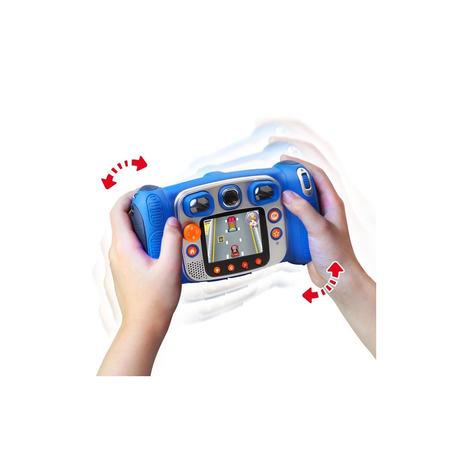 Интерактивная игрушка VTech Детская цифровая фотокамера Kidizoom Duo Blue (80-170803) изображение 3