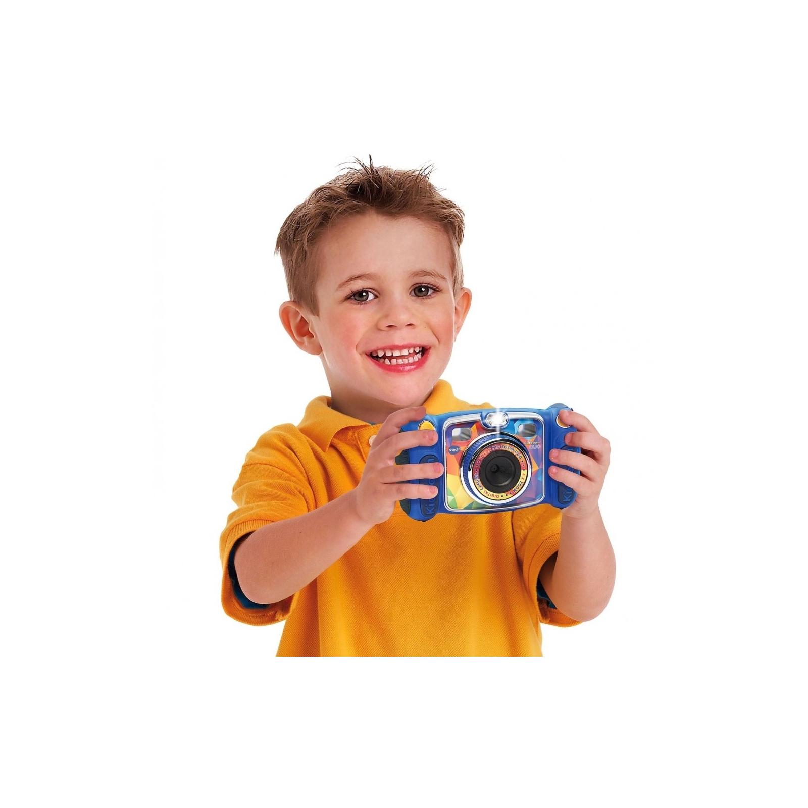 Интерактивная игрушка VTech Детская цифровая фотокамера Kidizoom Duo Blue (80-170803) изображение 4
