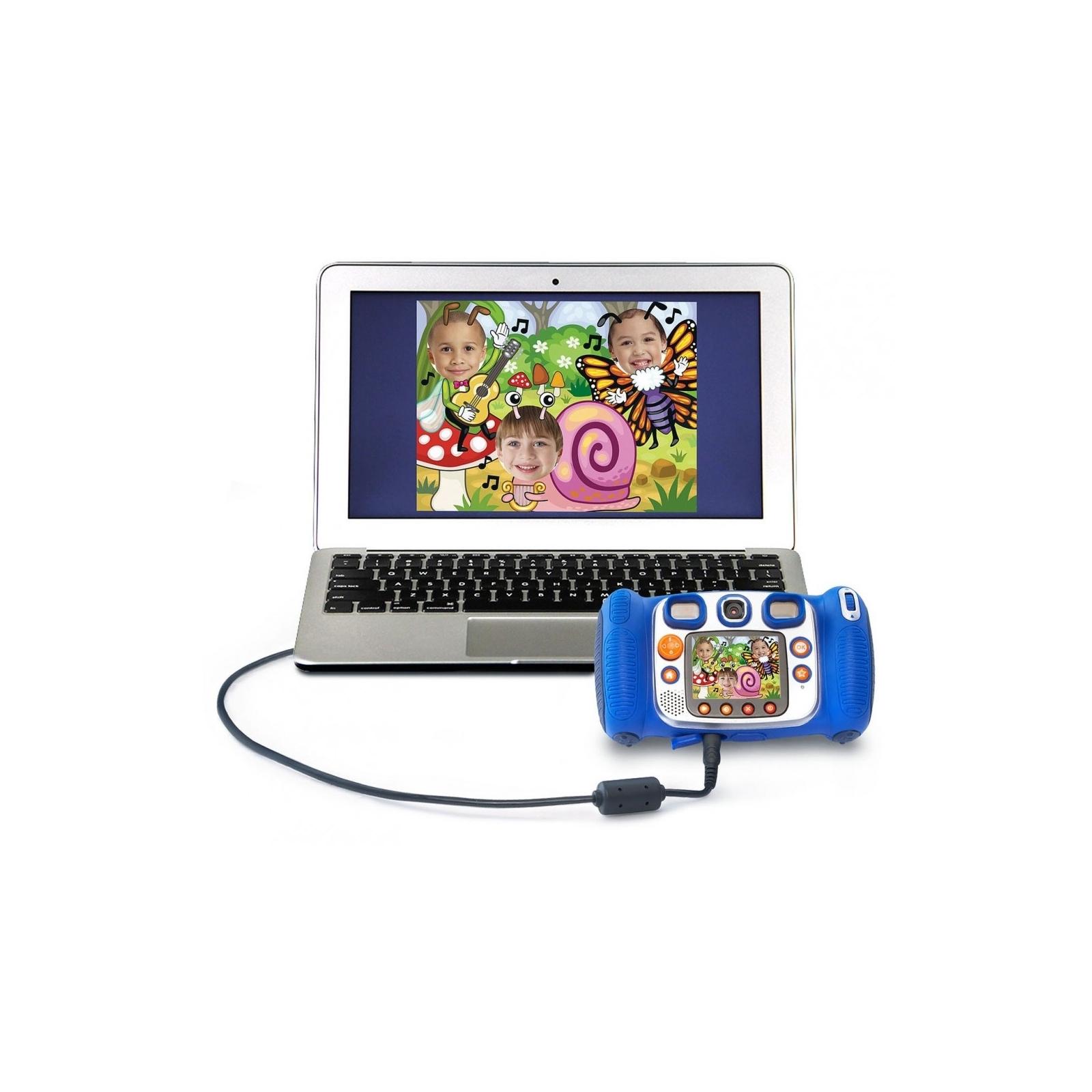 Интерактивная игрушка VTech Детская цифровая фотокамера Kidizoom Duo Blue (80-170803) изображение 6