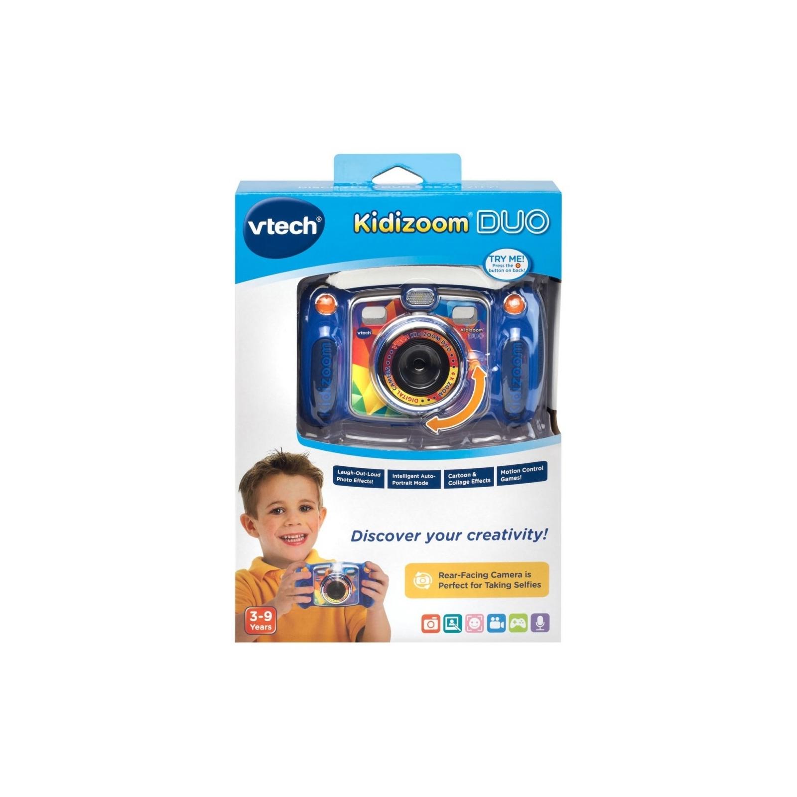 Интерактивная игрушка VTech Детская цифровая фотокамера Kidizoom Duo Blue (80-170803) изображение 7