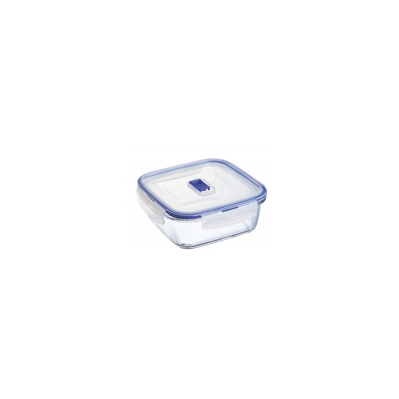 Пищевой контейнер Luminarc Pure Box Active набор 3шт квадр. 380мл/770мл/1220мл (P5276) изображение 4