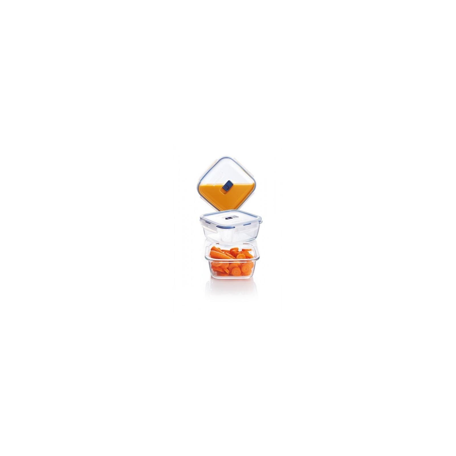 Пищевой контейнер Luminarc Pure Box Active набор 3шт квадр. 380мл/770мл/1220мл (P5276)