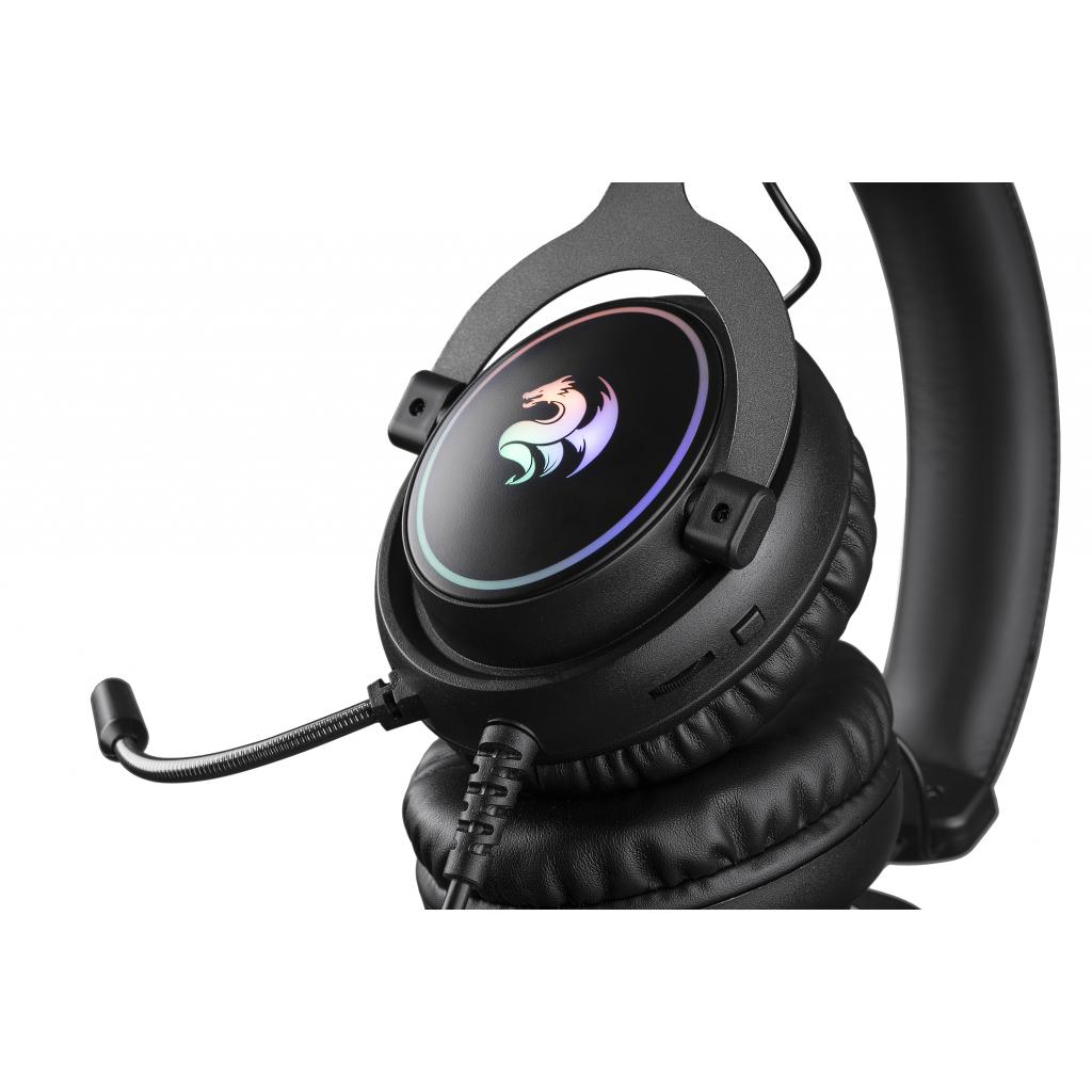 Навушники 2E Gaming HG320 LED Black (2E-HG320B) зображення 3