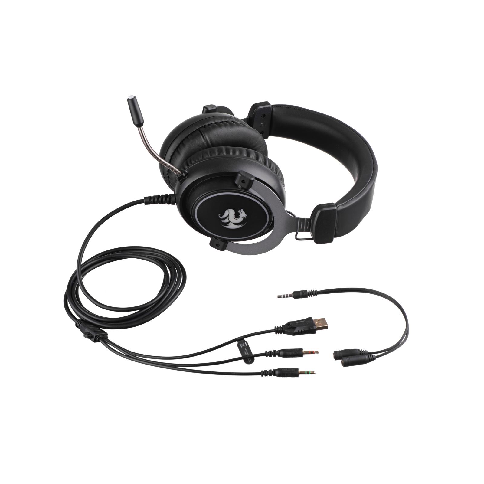 Навушники 2E Gaming HG320 LED Black (2E-HG320B) зображення 8