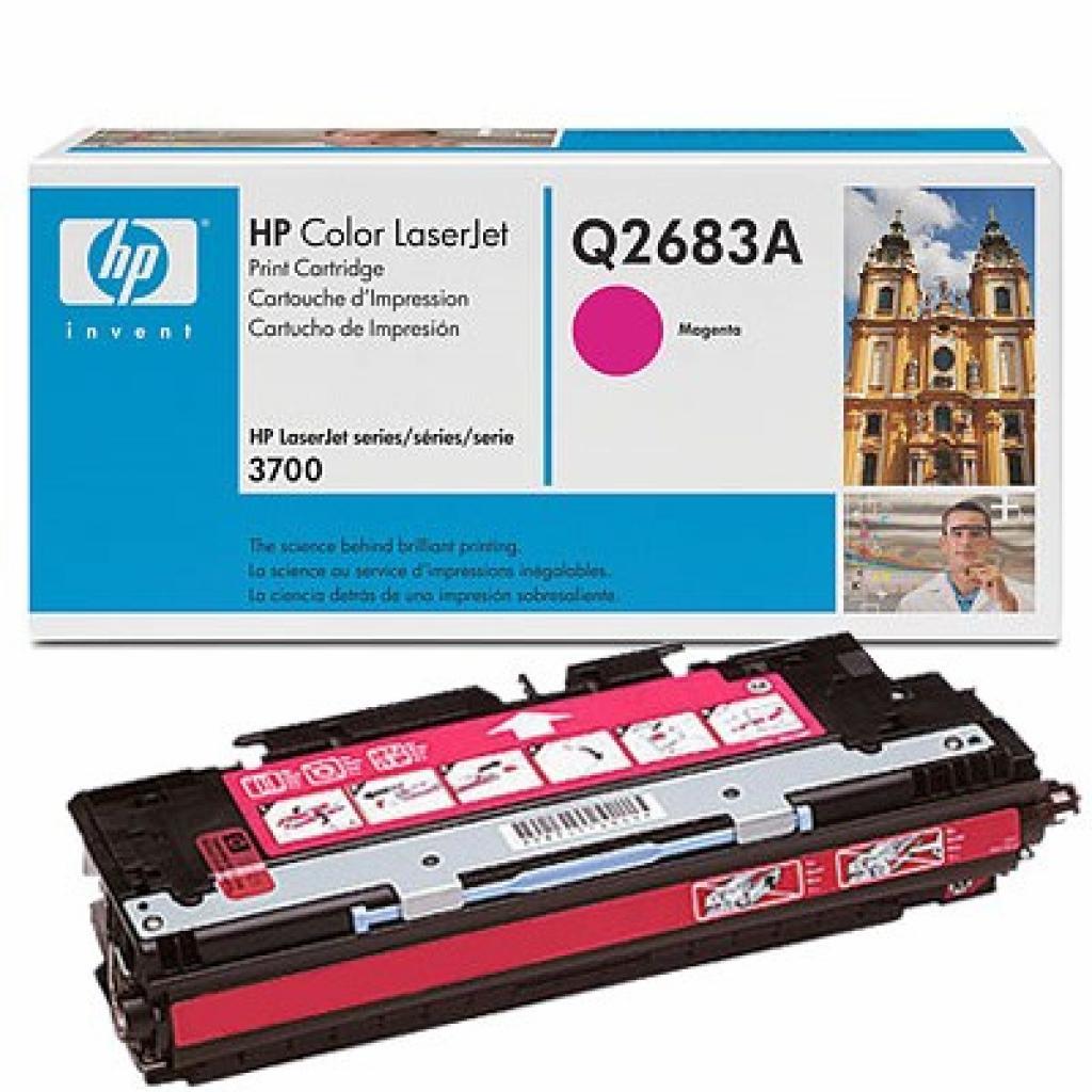 Картридж HP CLJ 3700 magenta (Q2683A)