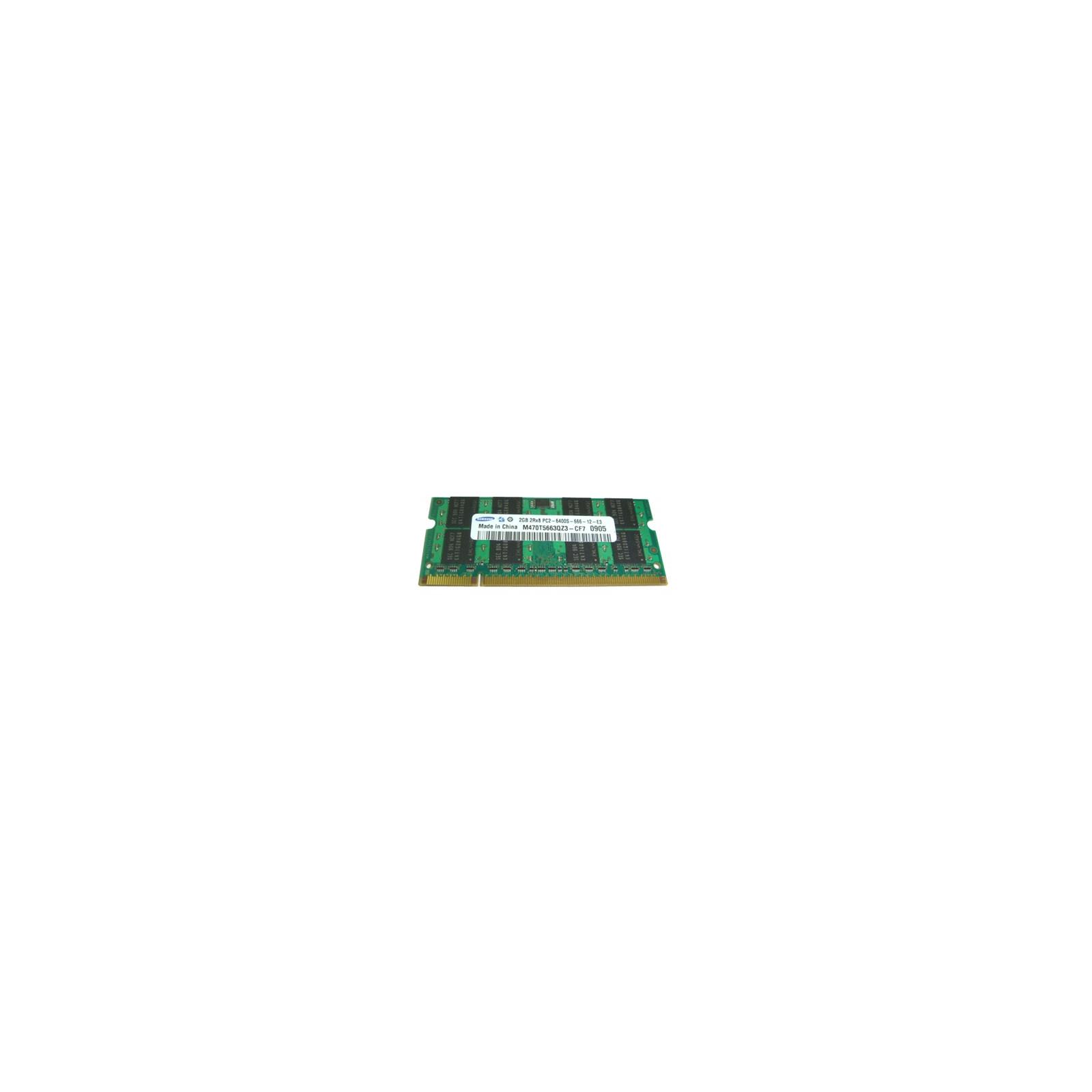 Модуль памяти для ноутбука SoDIMM DDR2 2GB 800 MHz Samsung (M470T5663FB3-CF7 / M470T5663EHC-CF7)