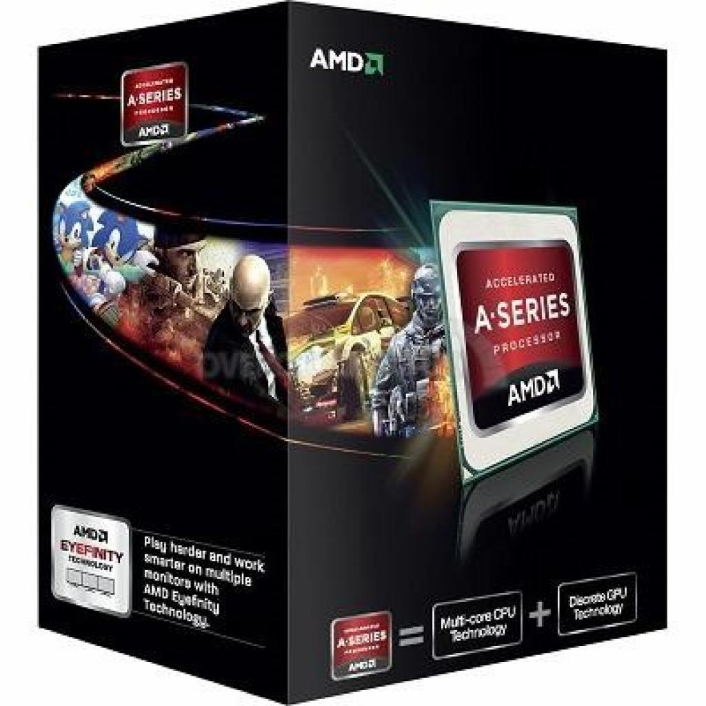 Процессор AMD A6-5400K X2 (AD540KOKHJBOX)