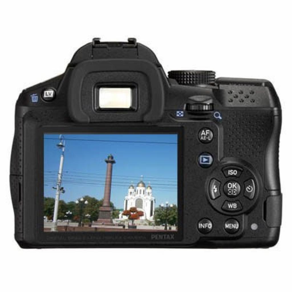Цифровой фотоаппарат Pentax K-30 + DA L 18-55mm black (15623) изображение 2