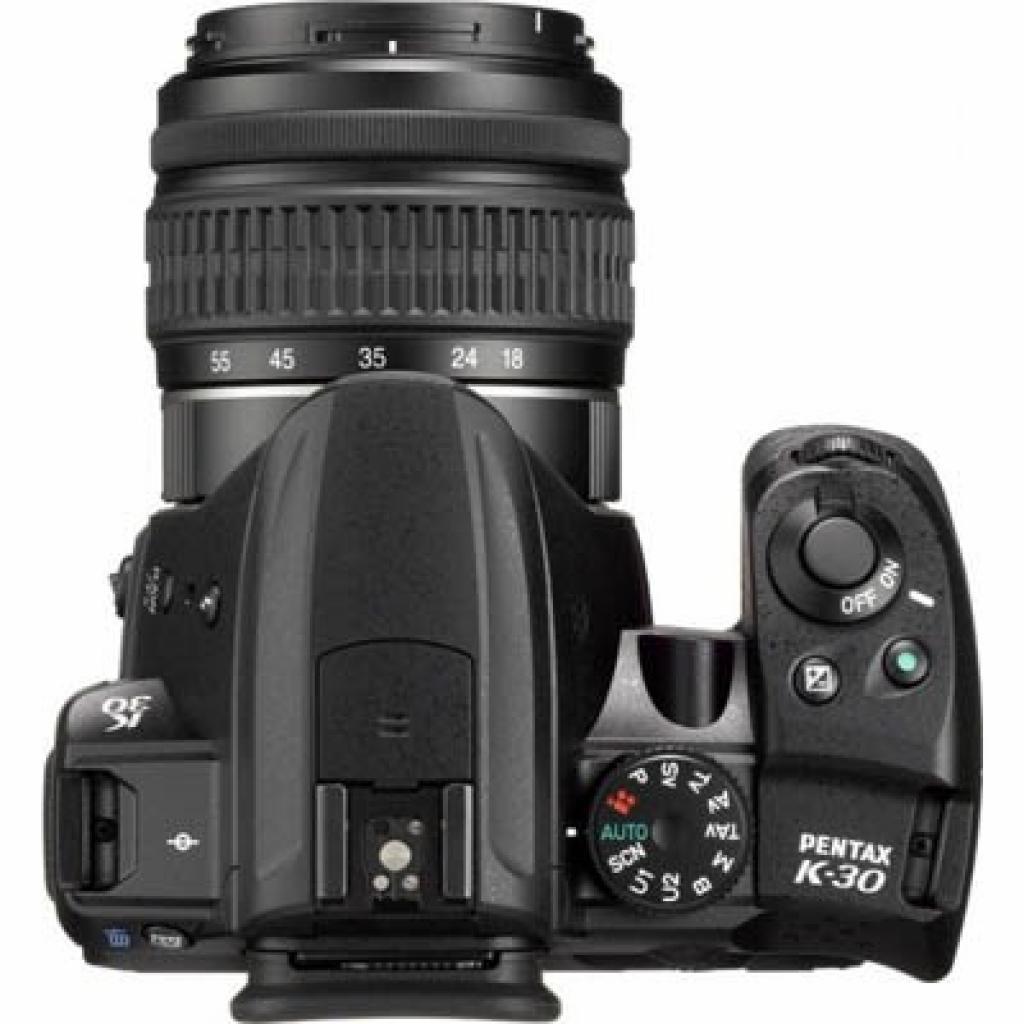 Цифровой фотоаппарат Pentax K-30 + DA L 18-55mm black (15623) изображение 3