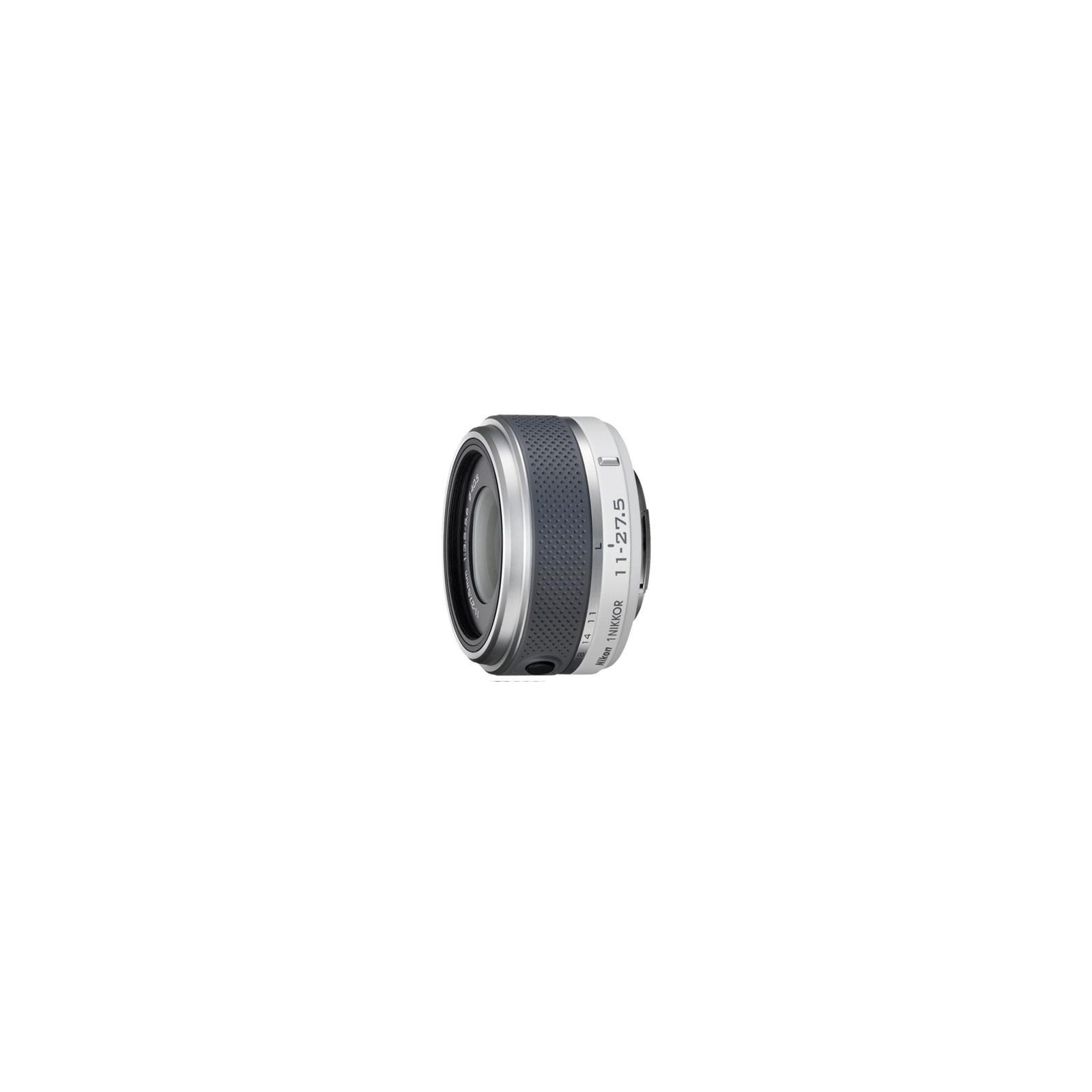 Объектив Nikon 1 Nikkor 11-27.5mm f/3.5-5.6 white (JVA704DB)