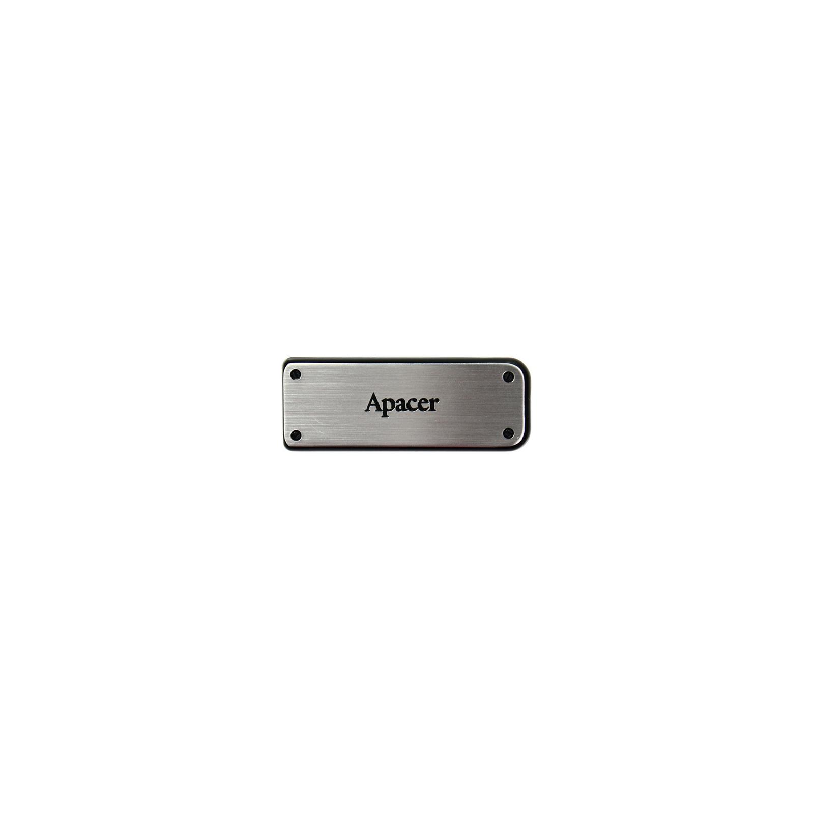 USB флеш накопитель 32GB AH328 Silver RP USB2.0 Apacer (AP32GAH328S-1)