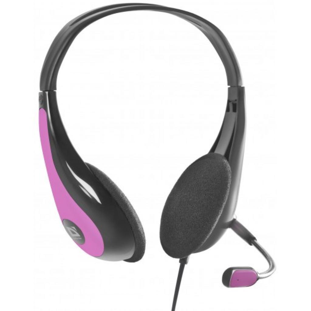 Наушники Defender Esprit HN-836 чорно-фіолетові (63840)