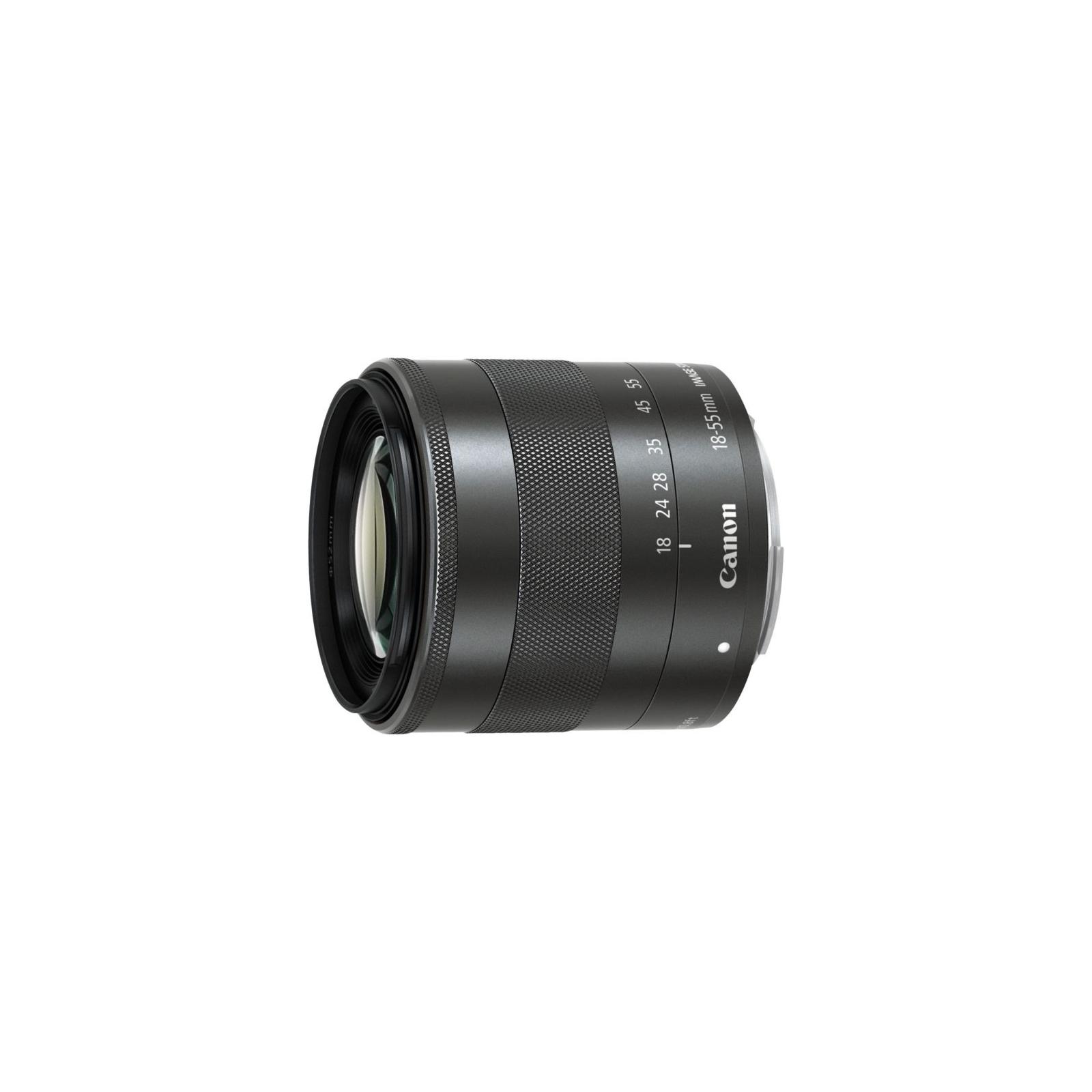 Объектив Canon EF-M 18-55mm f/3.5-5.6 IS STM (5984B005) изображение 2