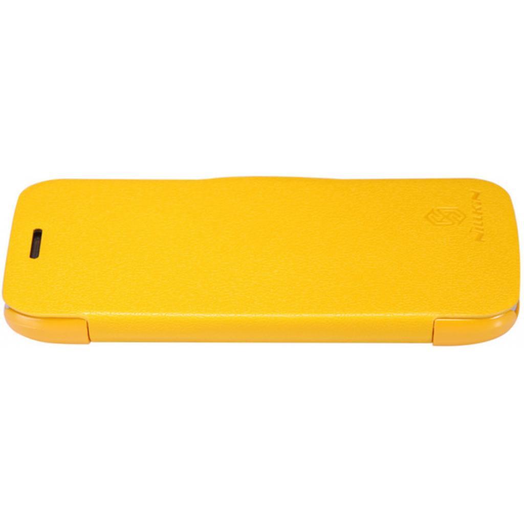 Чехол для моб. телефона NILLKIN для Samsung S7272 /Fresh/ Leather/Yellow (6076976) изображение 2
