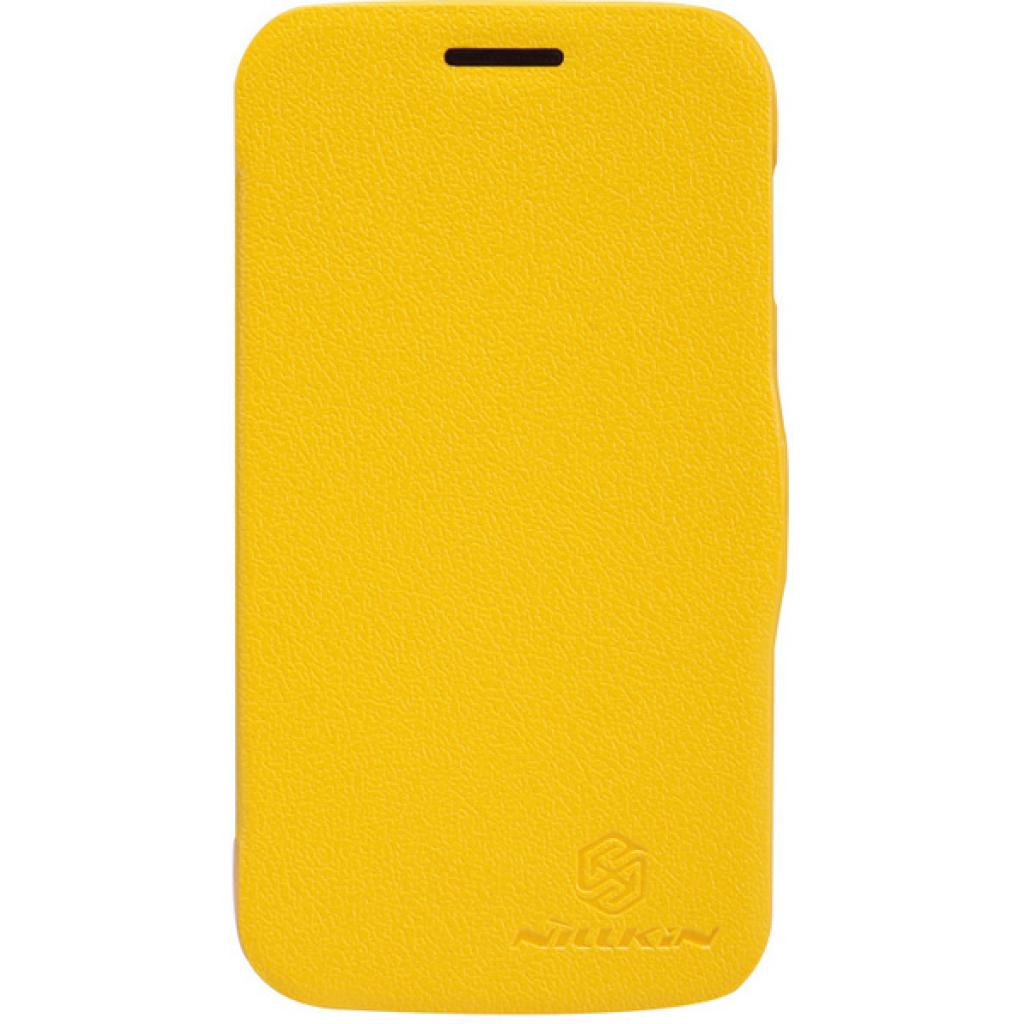 Чехол для моб. телефона NILLKIN для Samsung S7272 /Fresh/ Leather/Yellow (6076976)