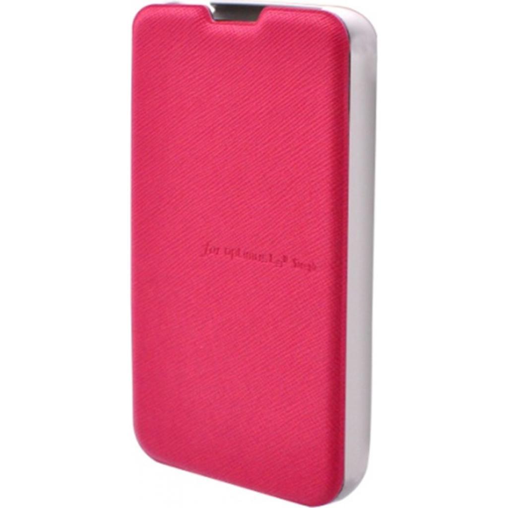 Чехол для моб. телефона VOIA для LG E445 Optimus L4II Dual /Flip/Pink (6068223)