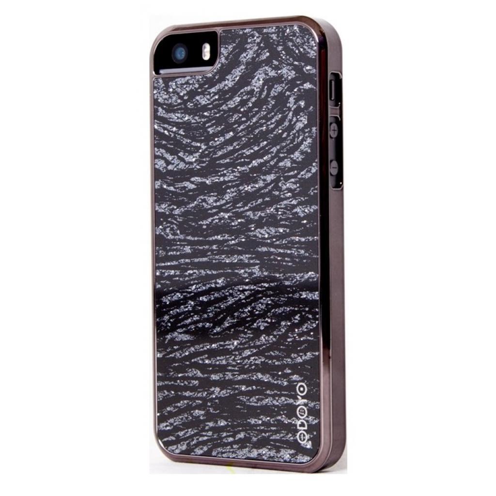 Чехол для моб. телефона ODOYO iPhone 5/5S /GLAMOUR /SPARKLE'IN ZEBRA (PH382ZA)