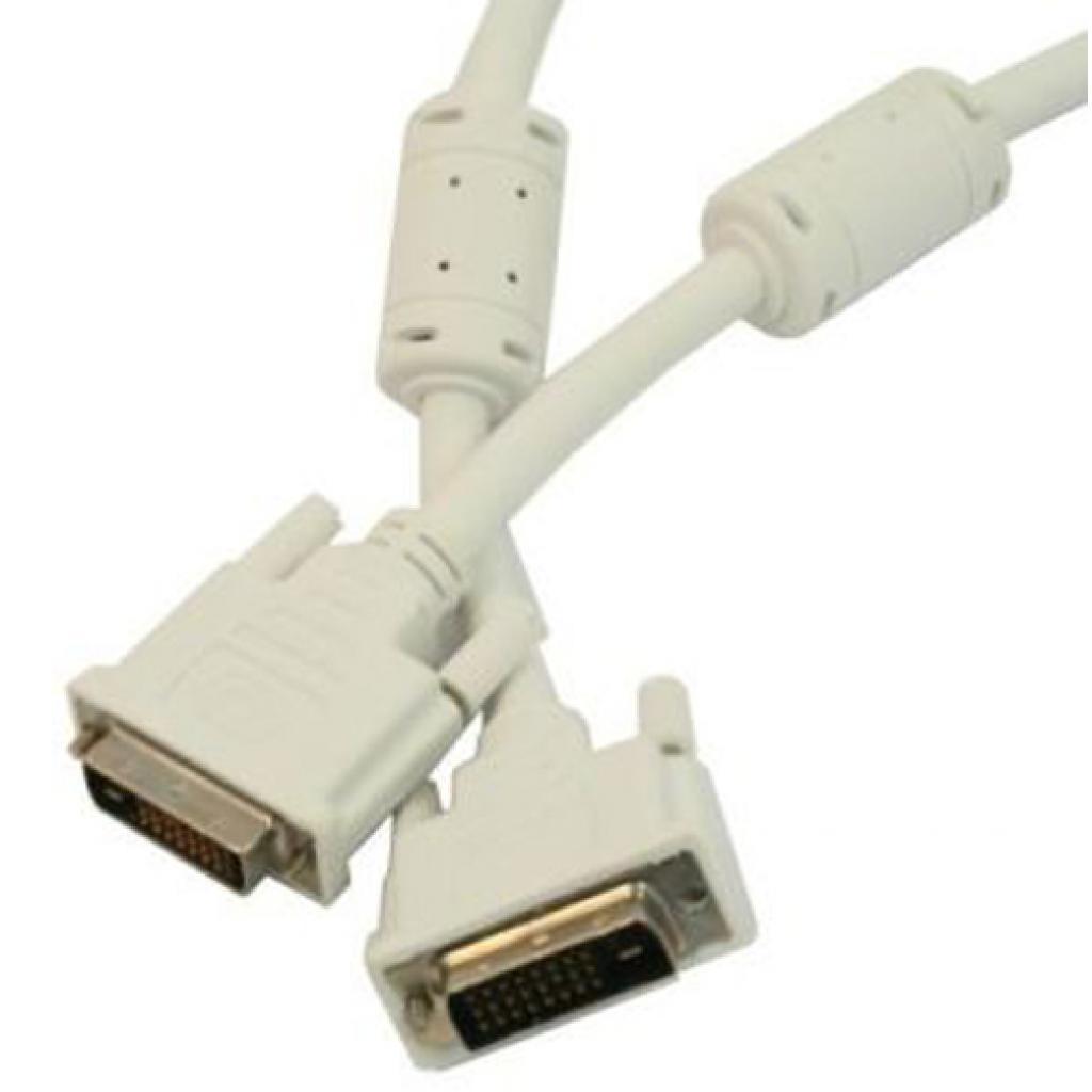 Кабель мультимедийный DVI to DVI 18pin, 3.0m Cablexpert (CC-DVI-10) изображение 4