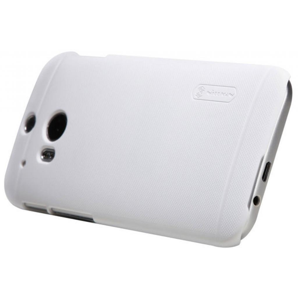 Чехол для моб. телефона для HTC ONE (M8) /Super Frosted Shield/White NILLKIN (6138232) изображение 2
