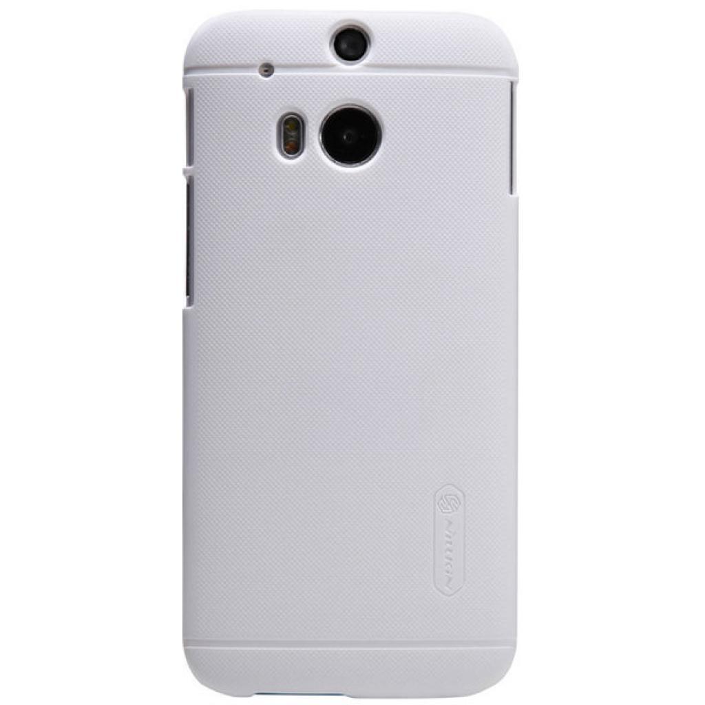 Чехол для моб. телефона для HTC ONE (M8) /Super Frosted Shield/White NILLKIN (6138232) изображение 3