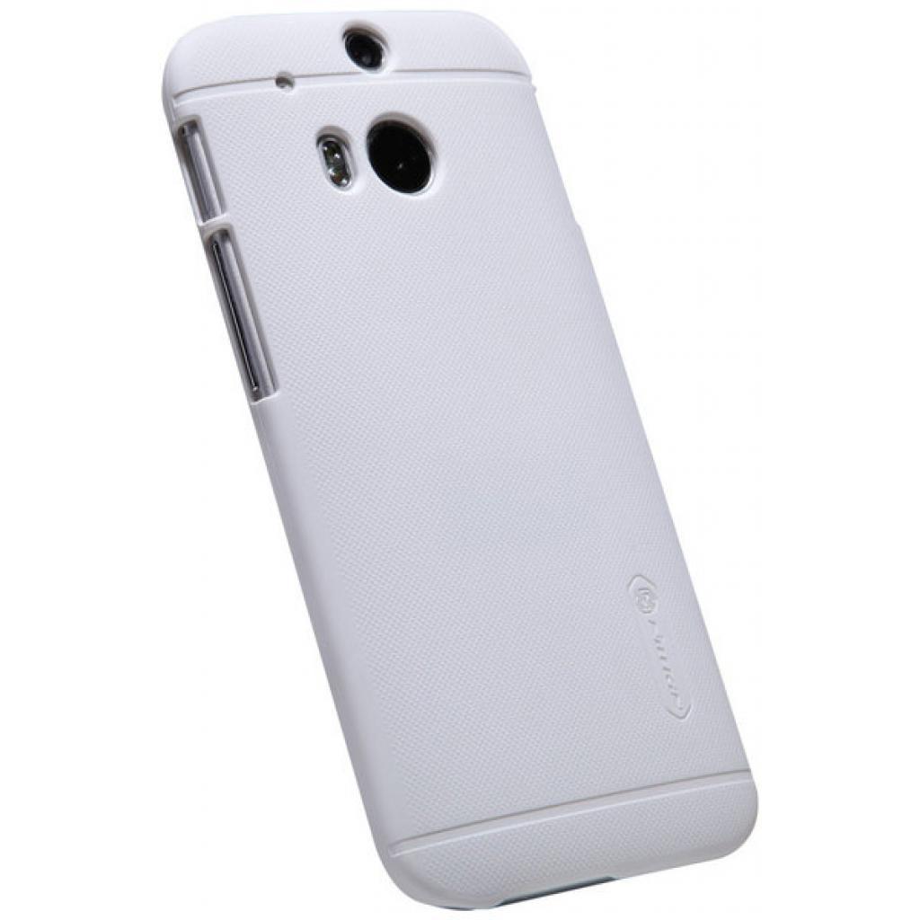 Чехол для моб. телефона для HTC ONE (M8) /Super Frosted Shield/White NILLKIN (6138232) изображение 4