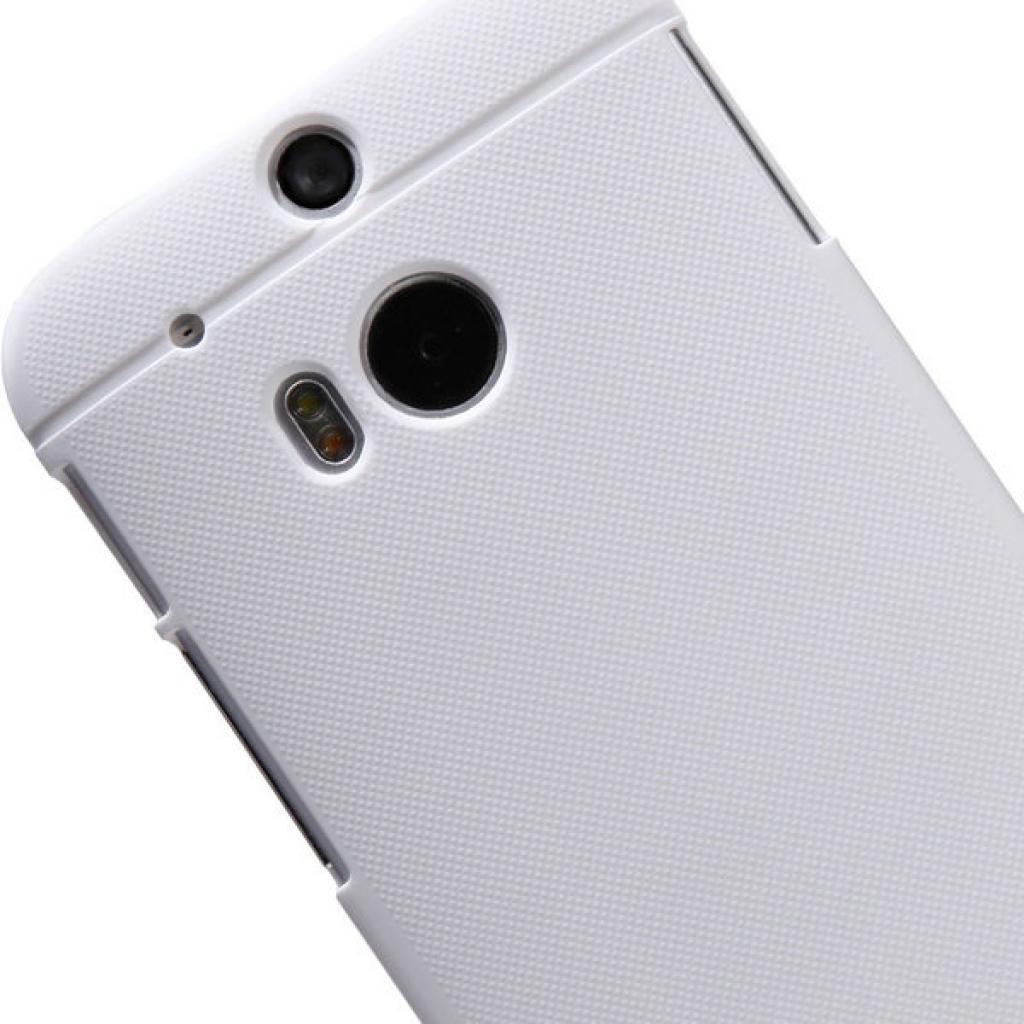 Чехол для моб. телефона для HTC ONE (M8) /Super Frosted Shield/White NILLKIN (6138232) изображение 5