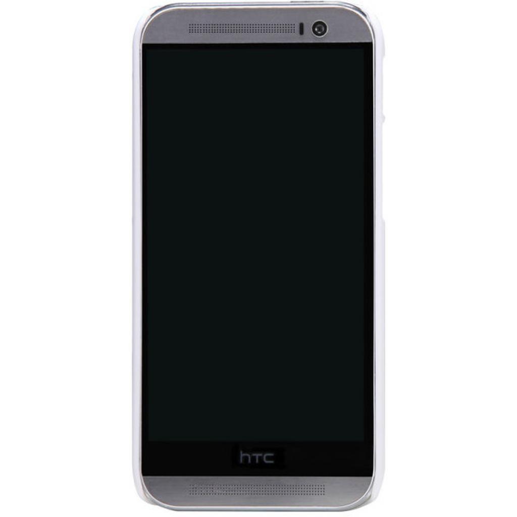 Чехол для моб. телефона для HTC ONE (M8) /Super Frosted Shield/White NILLKIN (6138232)