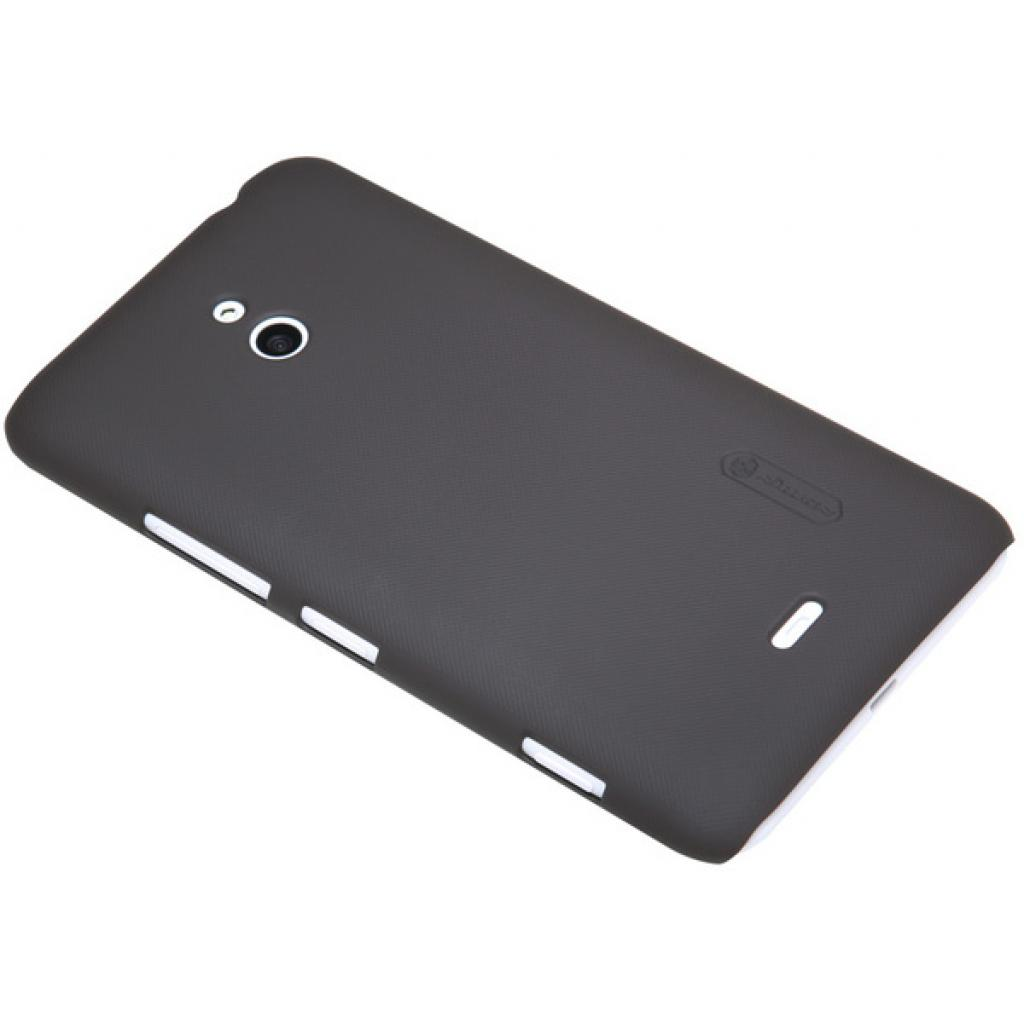 Чехол для моб. телефона NILLKIN для Nokia Lumia 20 /Super Frosted Shield/Brown (6135219) изображение 2
