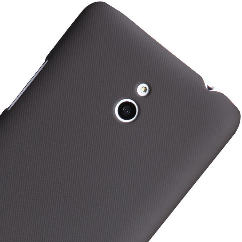 Чехол для моб. телефона NILLKIN для Nokia Lumia 20 /Super Frosted Shield/Brown (6135219) изображение 3