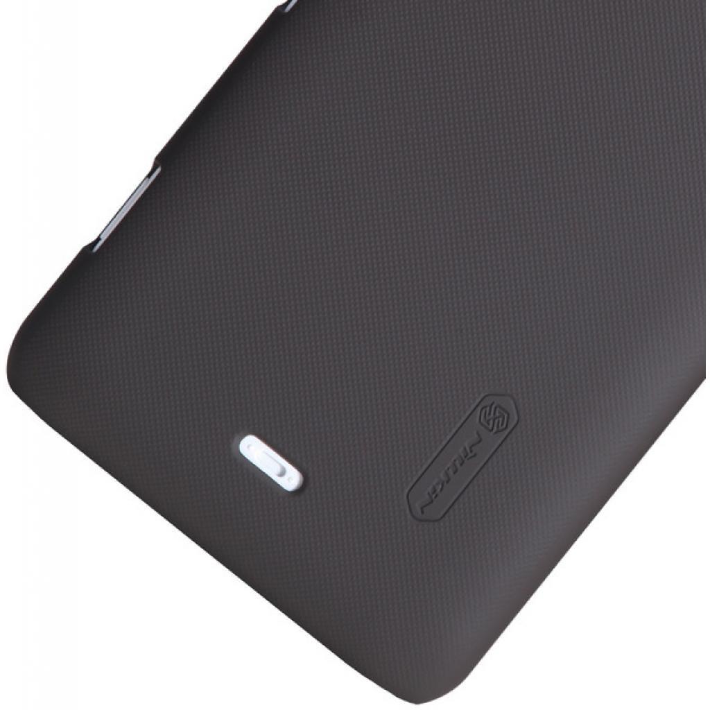 Чехол для моб. телефона NILLKIN для Nokia Lumia 20 /Super Frosted Shield/Brown (6135219) изображение 4