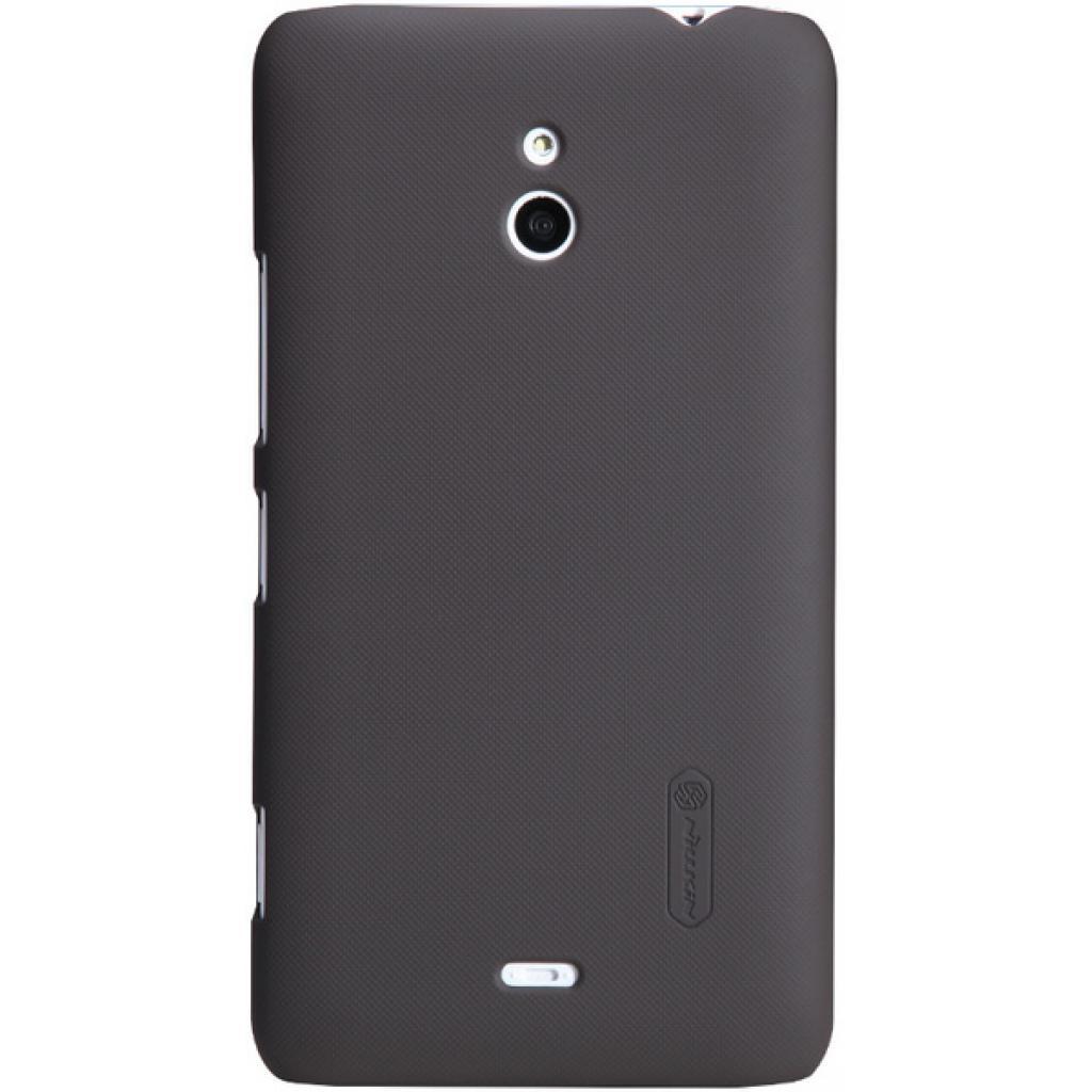 Чехол для моб. телефона NILLKIN для Nokia Lumia 20 /Super Frosted Shield/Brown (6135219)