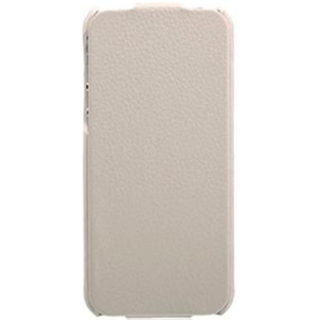 Чехол для моб. телефона i-Carer iPhone 5 white (RIP504WH)