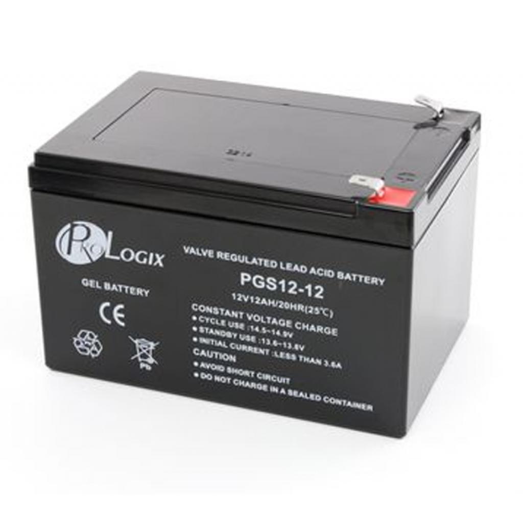 Батарея к ИБП PrologiX 12В 12 Ач гелевая (GS12-12)