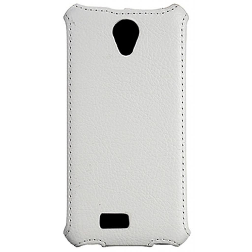 Чехол для моб. телефона Vellini для Fly IQ4416 White /Lux-flip / (214772) (214772) изображение 2