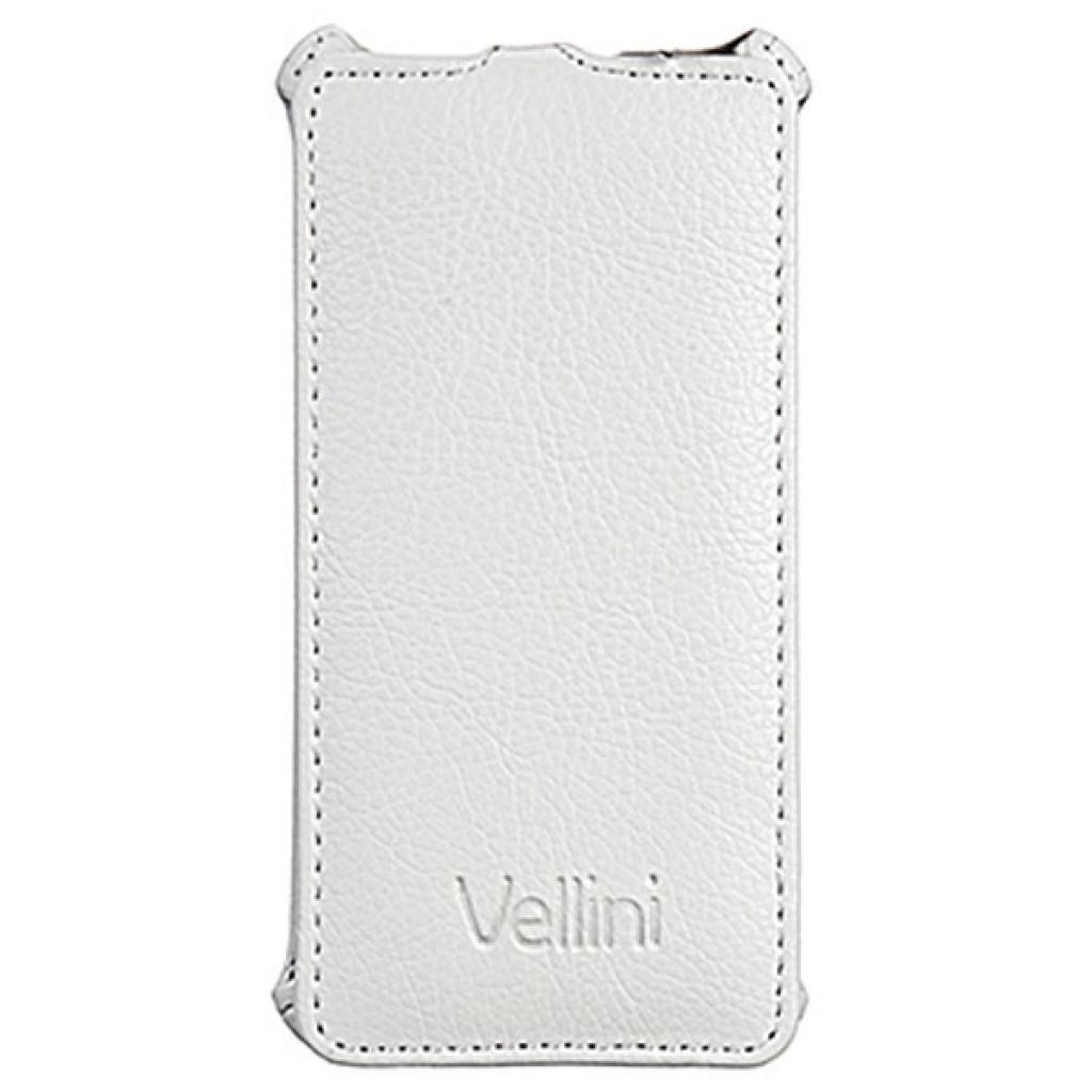 Чехол для моб. телефона Vellini для Fly IQ4416 White /Lux-flip / (214772) (214772)