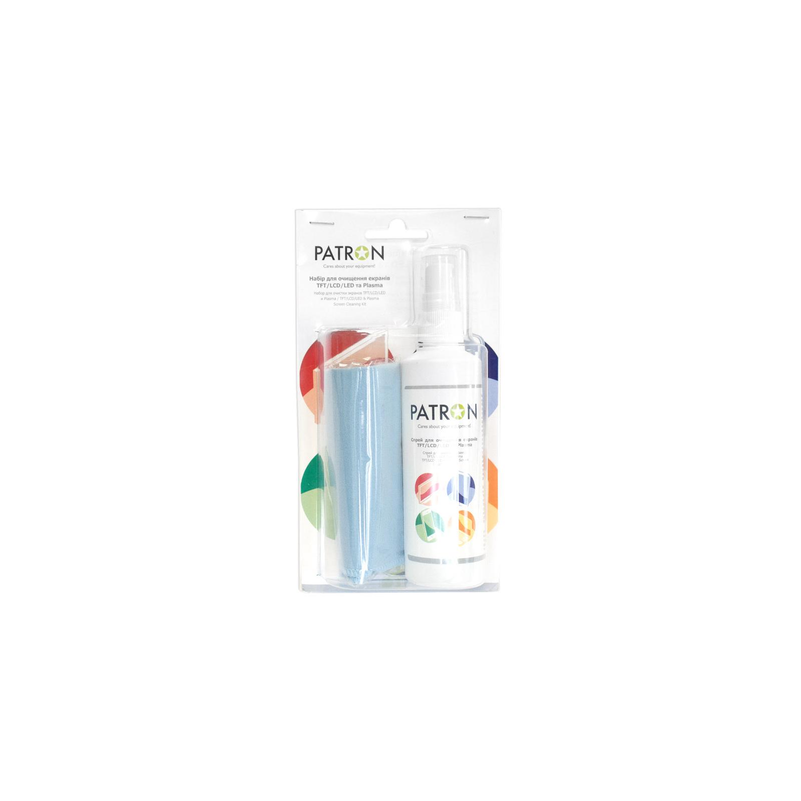 Универсальный чистящий набор PATRON for TFT/LCD/LED 125ml + Microfibre (F5-022)