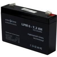 Батарея к ИБП LogicPower LPM 6В 7.2 Ач (3859)